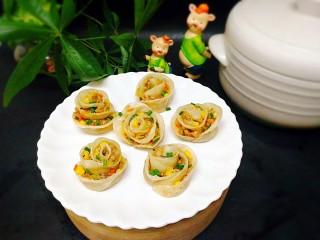 吃掉一朵花+玫瑰蒸饺