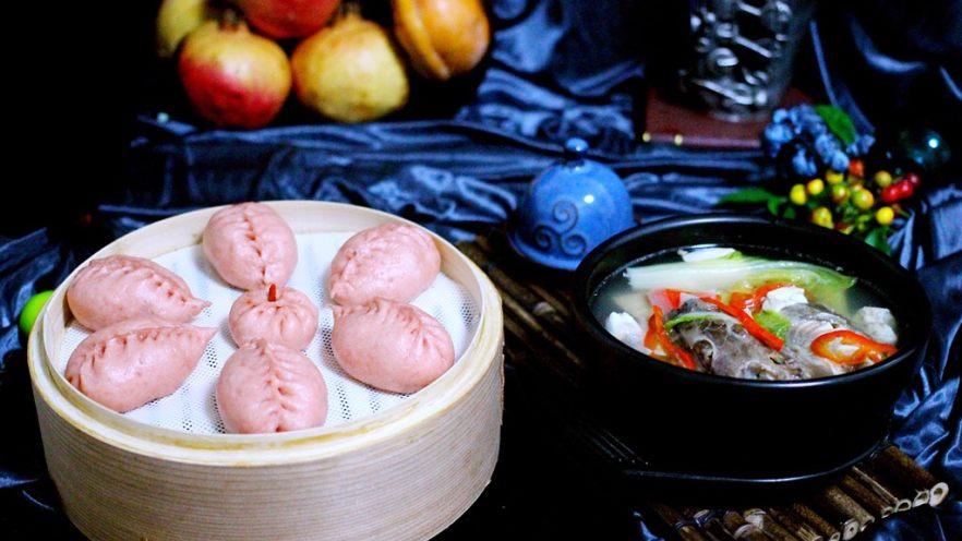 吃掉一朵花+萝卜丝柳叶包&清炖红蟹鱼汤