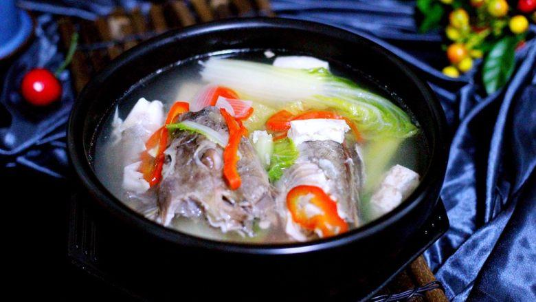 吃掉一朵花+萝卜丝柳叶包&清炖红蟹鱼汤,鲜美无比又健康营养的红蟹鱼汤出锅喽
