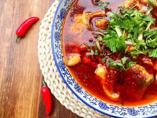 川香水煮鱼,很有胃口吧!