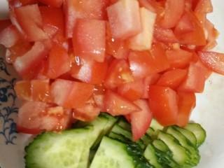 创新烤冷面,热炒烤冷面,保你吃的爽歪歪,把菜洗干净,切成这样