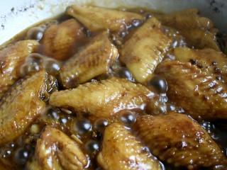 可乐鸡翅,然后大火收汁,根据个人口味加些盐即可