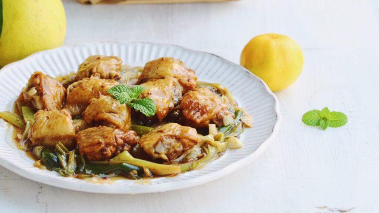 唯独好这口—葱香蚝油鸡翅,尽情的吃吧。