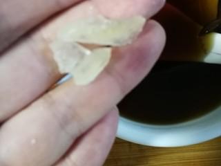 藕饼,加适量冰糖。