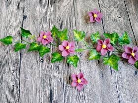 吃掉一朵花+紫薯小花馒头