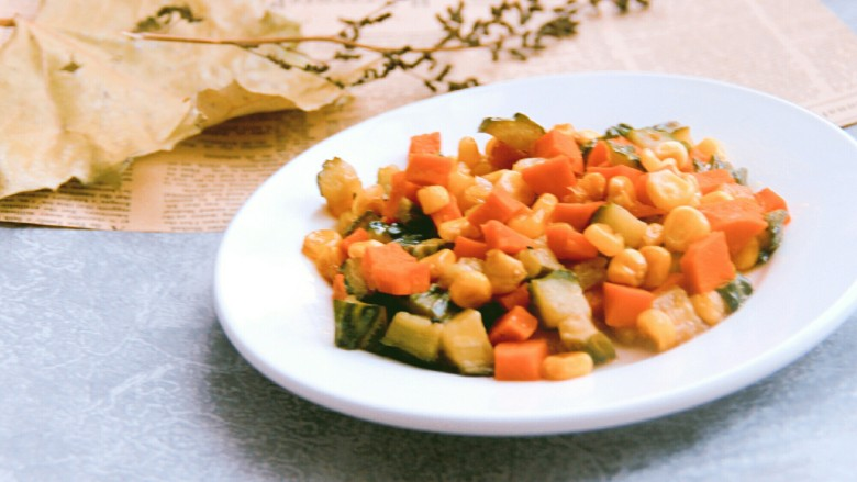 酸甜玉米粒