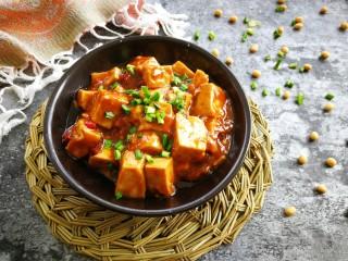 #懒人料理#家常烧豆腐(黄豆酱版),出锅吃吧!