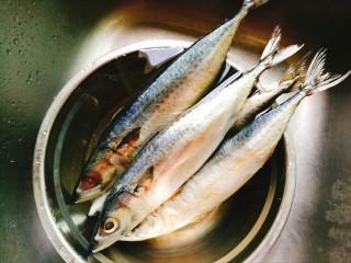 香烤马鲛鱼🐠,鱼去膛去腮 冲洗干净