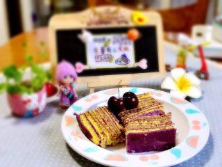 紫薯南瓜发糕