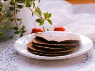 巧克力松饼,我用的材料,够做大约6个饼