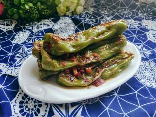 虎皮青椒,又香又辣的虎皮青椒做好了,可以吃两碗米饭呀!