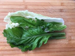 菜豆腐,准备好新鲜蔬菜,清洗干净!
