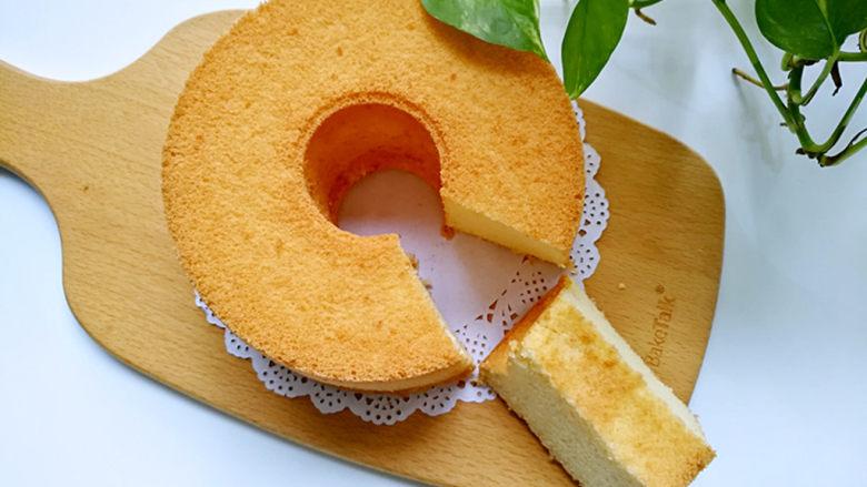 桔子汁戚风蛋糕