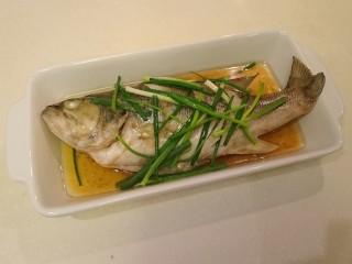 清蒸鱸魚,好啦!簡單美味!