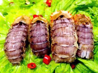 椒盐虾爬子,虾爬的肉肉入口肉质鲜嫩爽口