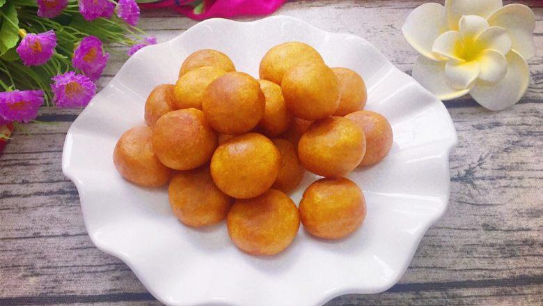 香甜红薯丸子