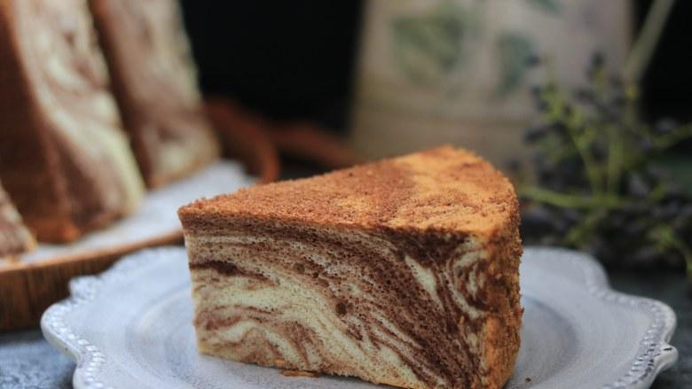 大理石戚风蛋糕