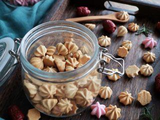 枣泥溶豆,非常漂亮的花纹