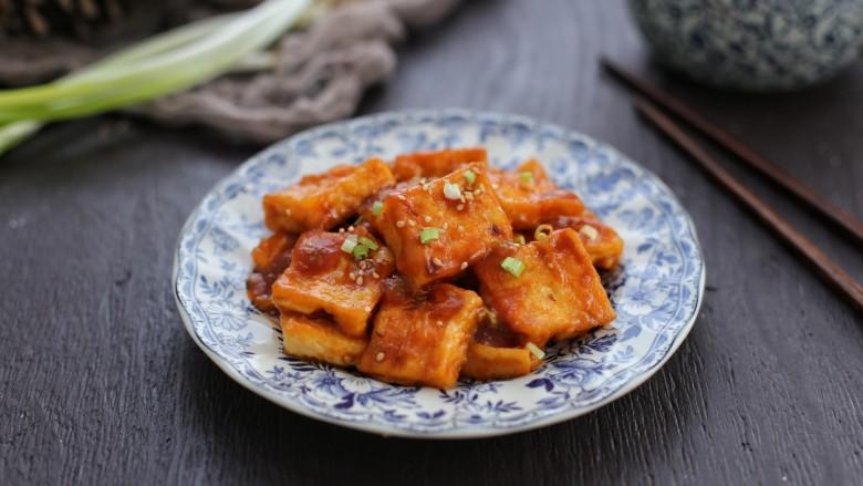 糖醋菜+糖醋脆皮豆腐