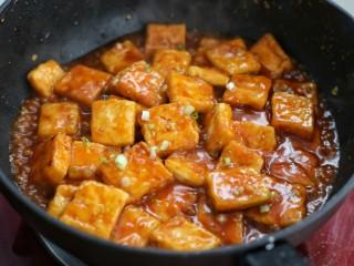 糖醋菜+糖醋脆皮豆腐,炒匀后盛出即可