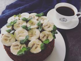 原创 | 无油无面粉咖啡香蕉湿蛋糕
