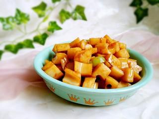 糖醋菜+糖醋藕丁
