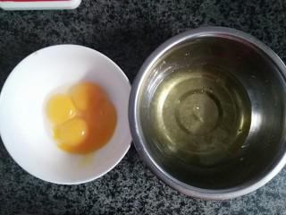 奶油蛋糕卷,分离蛋白和蛋黄