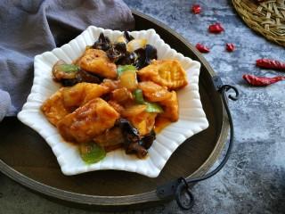#懒人料理#家常酱烧茄块,成品来袭,是不是很诱人。