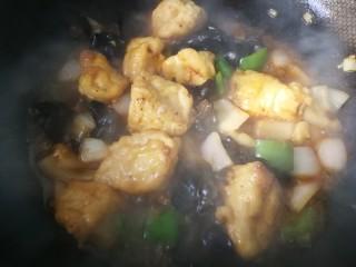 #懒人料理#家常酱烧茄块,等到茄子煮透时,大火收汁。