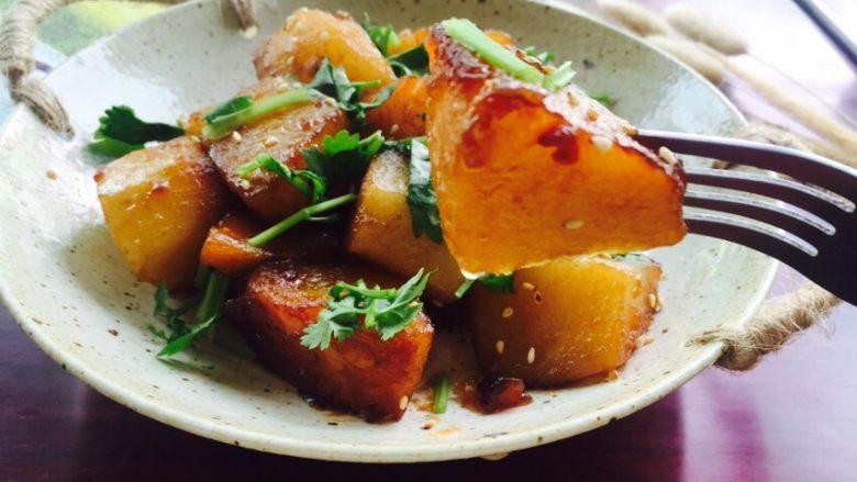 #糖醋菜#糖醋土豆,酸甜可口,好吃停不下来😋