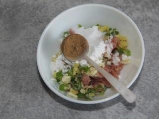 菠菜猪肉丸汤,加一勺胡椒粉
