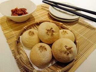 最爱面包+米製小面包,啊!忘了準備熱湯了…邊喝湯變吃面包,把面包泡溼再吃也很棒!