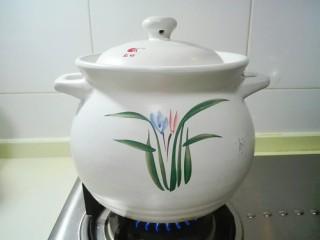 天太冷了~喝碗花椒萝卜骨头汤,盖上盖子烧开
