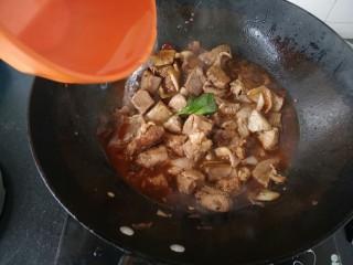 ≈羊肉火锅≈,接着加入能没过食材的水,开大火煮