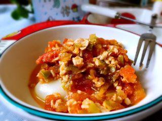 辅食~土豆泥新吃法,比KFC好吃100倍!,煮好后淋在土豆泥上即可