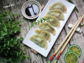猪肉白菜水饺,可依据个人口味蘸醋蘸辣椒油,享受美味