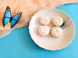 感恩节菜谱#山药豆沙糕#,美味又可口。