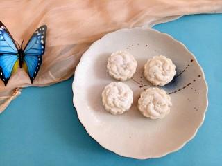 感恩节菜谱#山药豆沙糕#,山药豆沙糕完成了。