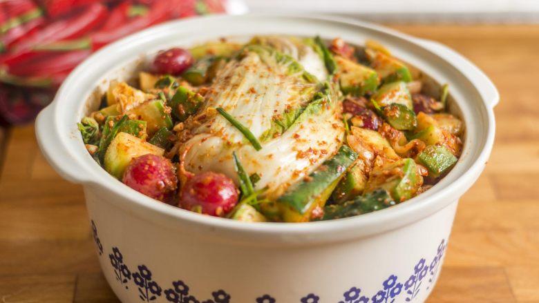 制作自家口味的韩式泡菜