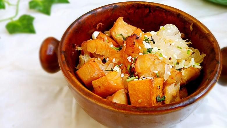 #感恩节食谱#南瓜蜜柚烤鸡肉