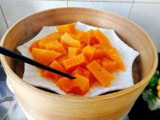 #最爱包子#+仿真小南瓜豆沙包,用筷子测试