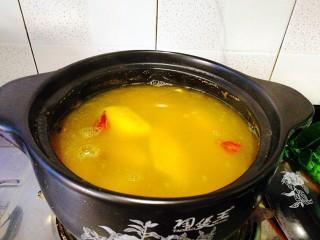 #感恩节食谱#煮盐焗鸡中翅,后加入鸡翅