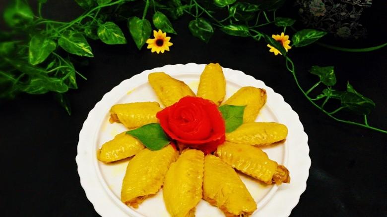 #感恩节食谱#煮盐焗鸡中翅,成品图