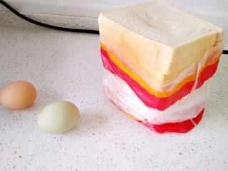 懒人料理+快手早餐,这是买的土司,也可以自己做,但是我懒就买来做,省事😁