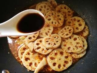 酸辣藕片,临出锅前加入2勺醋即可。