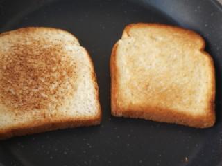 三明治,这个是两面的对比