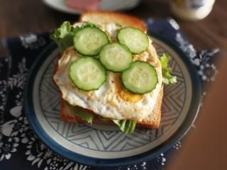 三明治,加黄瓜