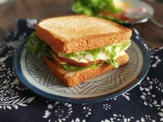 三明治,叮咚~成品