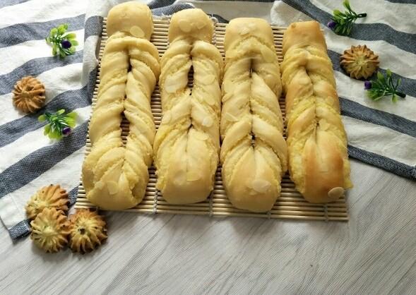 奶黄面包条