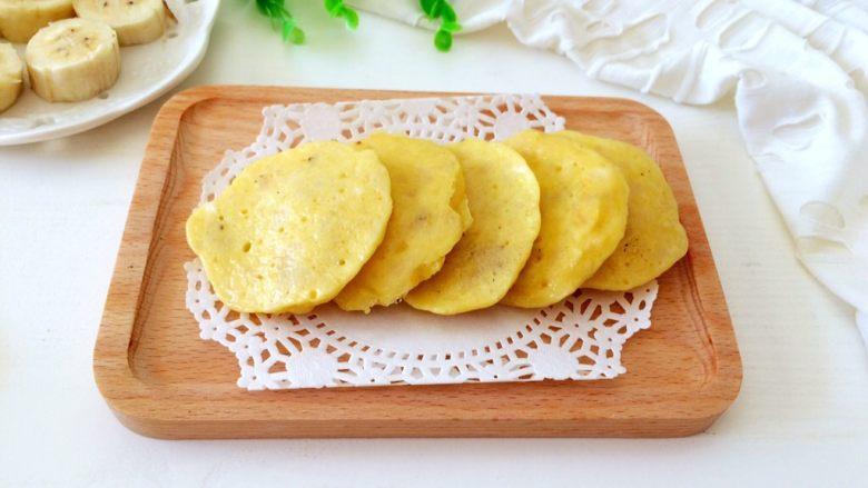 #感恩节食谱#香甜小米蕉煎饼